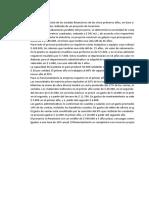 ESTADOS FINANCIEROS PROYECTADOS-EJERCICIO SEGUNDO PARCIAL