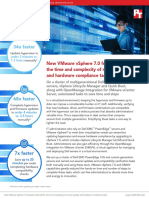 New VMware vSphere 7.0 features reduced the time and complexity of routine update and hardware compliance tasks