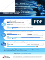 New VMware vSphere 7.0 features reduced the time and complexity of routine update and hardware compliance tasks - Infographic