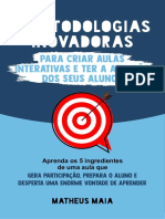 Ebook - Metodologias Inovadoras - Matheus Maia
