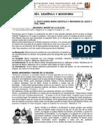 MARÍA DISCÍPULA Y MISIONERA I -5TO SEC