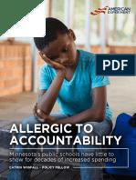 Allergic to Accountability