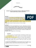 EM BUSCA DE UM OLHAR MAIS CRÍTICO SOBRE IDENTIDADE(S)