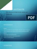 PROGRAM INTERVENSI MATEMATIK