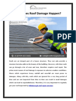 How Does Roof Damage Happen