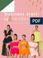 BGT Business Start Up Guide & Vendor List