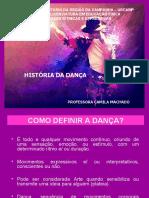 HSTORIA DA DANÇA 2020