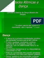 HSTORIA DA DANÇA