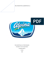 AUDITORIA FINANCIERA - ALPINA