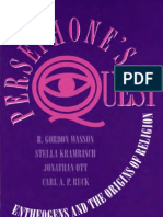 R. Gordon Wasson - Persephone's Quest - Entheogens and the Origins of Religion