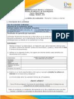 Guia de actividades y Rúbrica de evaluación - Momento 1 - Qué conozco sobre cultura, internet y virtualidad.pdf