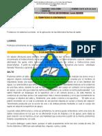 TALLER EDUCACION FISICA  GRADO 6