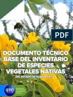 Documento Tecnico Especies Vegetales Nativas