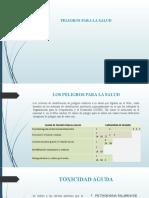 Diapositivas Peligros para la salud