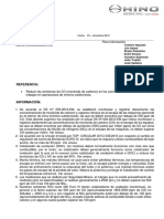 Informativo de reducción de emisiones de CO en serie 300 Euro IV