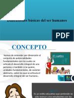 Dimenciones básicas del ser humano