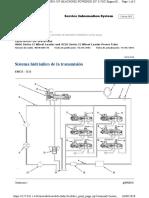 Sistema hidráulico de la transmisión 966g