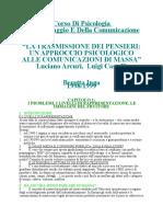 Psicologia Linguaggio Comunicazione