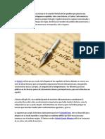 La literatura latinoamericana