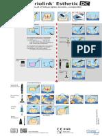 Variolink+Esthetic DC_Composite_glass ceramic restorations_Flow Chart_en