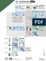 Variolink+Esthetic LC_Composite_glass+ceramic restorations_Flow Chart_en