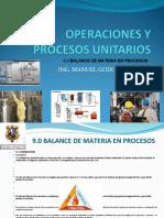 OPERACIONES Y PROCESOS UNITARIOS 9