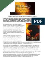 'A PAIXÃO DE CRISTO' de Mel Gibson