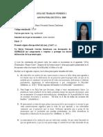 GUÍA DE TRABAJO NÚMERO 1. MARIA FERNANDA GARZON - 37109