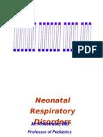 Neonatal Respiratory Disorders