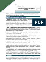 GUIA DESARROLLO PARA LOS EJERCICIOS TACTICOS GESTIÓN DEL CONOCIMIENTO INSTITUCIONAL