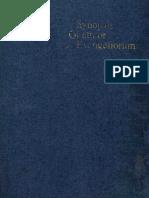 Synopsis Quattuor Evangeliorum. Aland