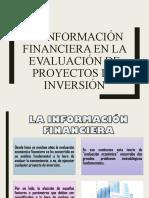 6 LA INFORMACIÓN FINANCIERA EN LA EVALUACIÓN DE PROYECTOS DE INVERSIÓN.ppt