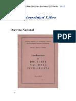Doctrina Nacional decreto 13.378, 1954