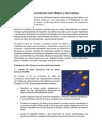 Acuerdos económicos entre México y otros países
