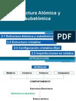 Unidad 2-1 Estructura atómica