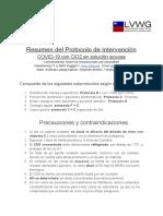 Protocolo Intervención COVID19