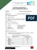 MEMORIA DESCRIPTIVA ELECTRICAS.doc