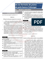 2º Simulado TJRJ Téc Jud - FOLHA DE RESPOSTAS 15-02