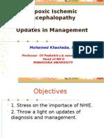Hypoxic Ischemic Encephalopathy Updates in Management