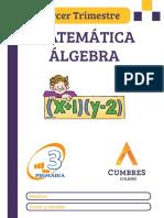 TERCERO - MATE 1 - ALGERA - 3 TRIMESTRE