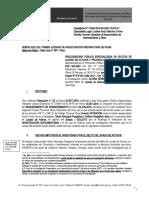 Leg. 130-2015 Oposición al sobreseimiento