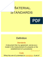 4 Material Standards