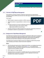 CASA Flight Manual Management