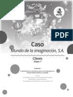 4.º Bach Clave E1 Caso _Mundo de la imaginación, S.A._ 1-2020