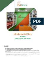 PickNatura_MiniStore Proposal