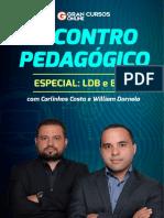 Encontro Pedagogico Especial LDB e BNCC