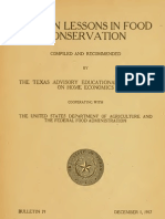 TX357.T45 Fifteen Lessons on Food Conservation (1917)