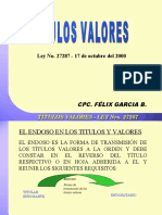 TITULOS_VALORES - PRECISIONES