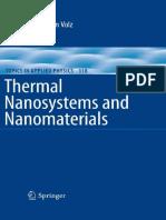 [Topics in applied physics 118] Sebastian Volz (auth.), Sebastian Volz (eds.) - Thermal nanosystems and nanomaterials (2009, Springer-Verlag Berlin Heidelberg) - libgen.lc.pdf