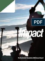 2006 rockefeller foundation report